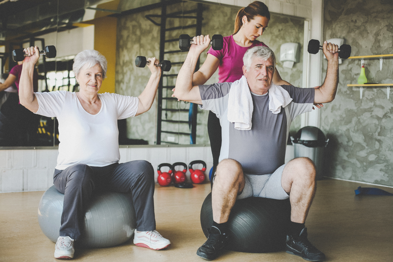 Personal Trainer For Seniors Personal Training Il